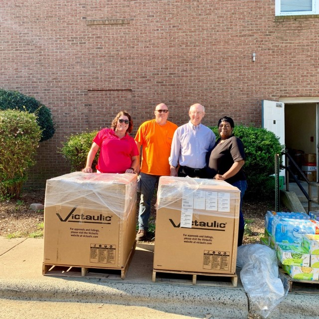 Sunland Fire Protection Donates 1,300 Pounds of Food to Open Door Ministries
